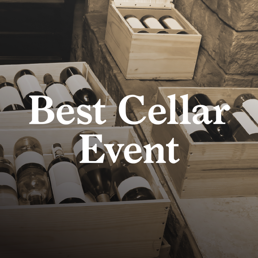 Best Cellar Event