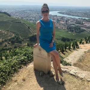 Head of Wine, Vanessa Conlin, MW in the Northern Rhone